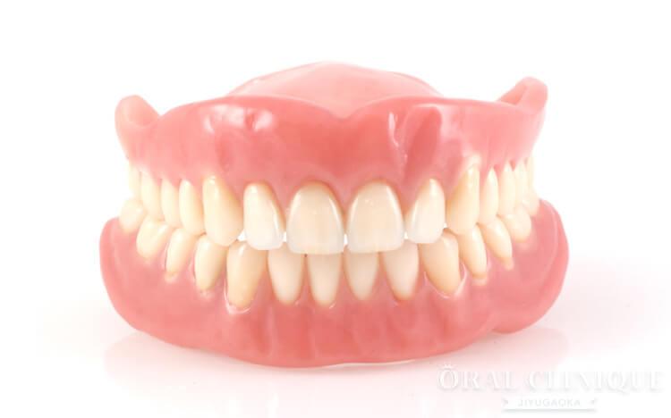 欠損歯の治療:入れ歯