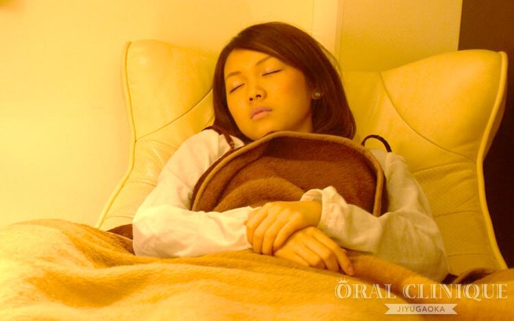 眠っている間に治療が終わる無痛歯周病治療